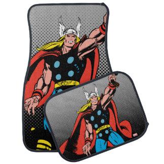Thor Raising Mjolnir Car Mat