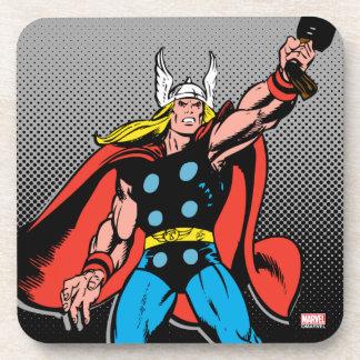 Thor Raising Mjolnir Coaster