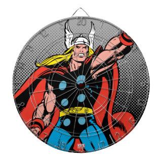 Thor Raising Mjolnir Dart Boards