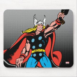 Thor Raising Mjolnir Mouse Pad
