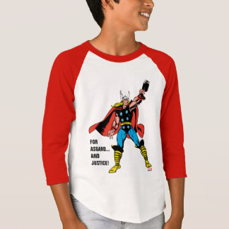Thor Raising Mjolnir Tee Shirts