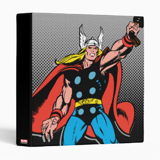 Thor Raising Mjolnir Vinyl Binder
