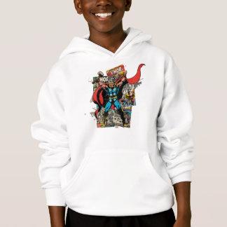 Thor Retro Comic Collage