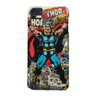 Thor Retro Comic Collage iPod Touch 5G Case