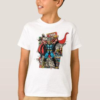 Thor Retro Comic Collage T-Shirt