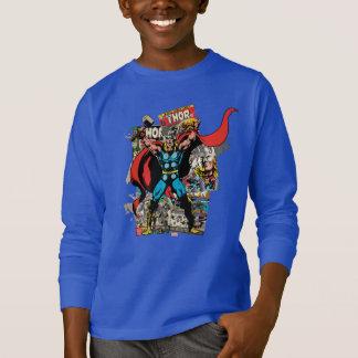 Thor Retro Comic Collage T Shirts
