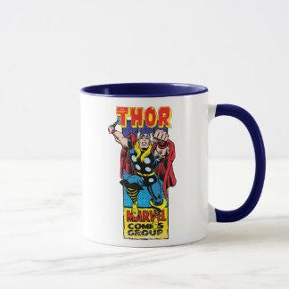 Thor Retro Comic Graphic Mug