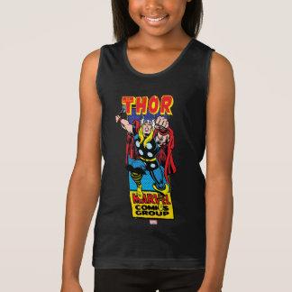 Thor Retro Comic Graphic Tank Top