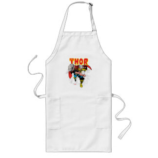 Thor Retro Comic Price Graphic Long Apron