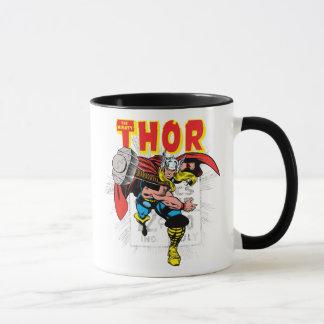 Thor Retro Comic Price Graphic Mug