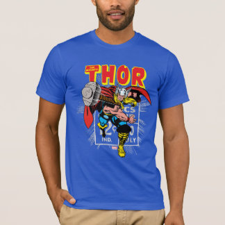 Thor Retro Comic Price Graphic T-Shirt