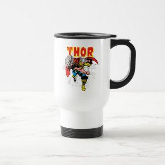 Thor Retro Comic Price Graphic Travel Mug