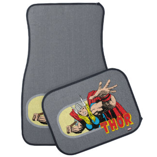 Thor Retro Graphic Car Mat