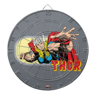 Thor Retro Graphic Dartboard