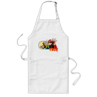 Thor Retro Graphic Long Apron