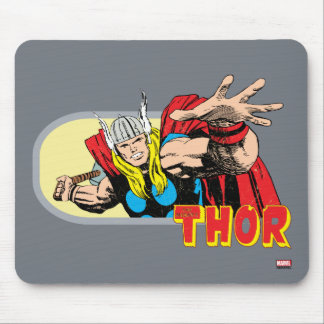 Thor Retro Graphic Mouse Pad