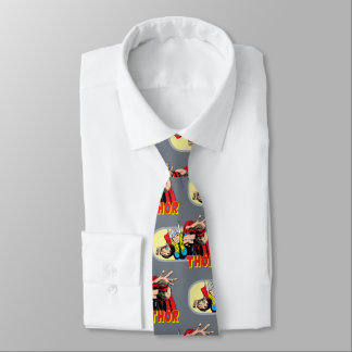 Thor Retro Graphic Tie