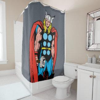 Thor Standing Tall Retro Comic Art