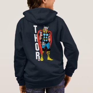 Thor Standing Tall Retro Comic Art Hoodie