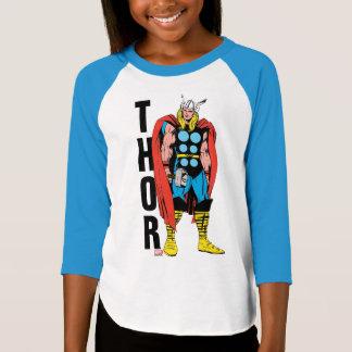 Thor Standing Tall Retro Comic Art Shirt