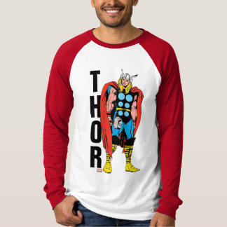 Thor Standing Tall Retro Comic Art T-Shirt