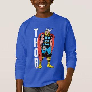 Thor Standing Tall Retro Comic Art T-Shirt