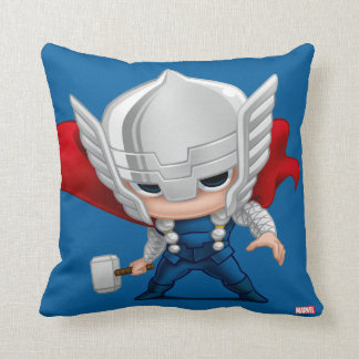 Thor Stylized Art Throw Pillow