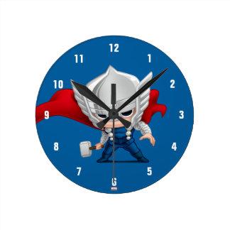 Thor Stylized Art Wall Clock