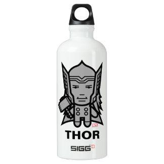 Thor Stylized Line Art