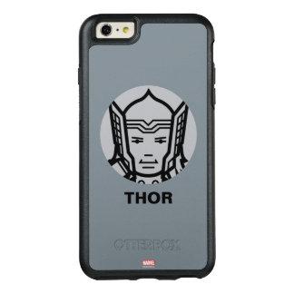 Thor Stylized Line Art Icon OtterBox iPhone 6/6s Plus Case