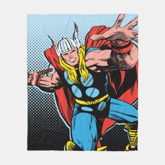 Thor Swing Back Mjolnir Fleece Blanket