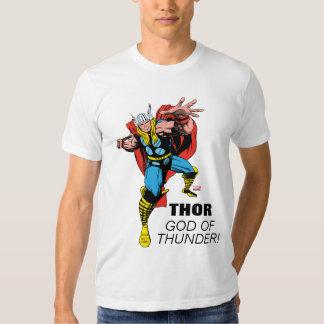Thor Swing Back Mjolnir T Shirt