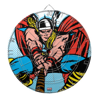 Thor Swinging Mjolnir Forward Dartboard