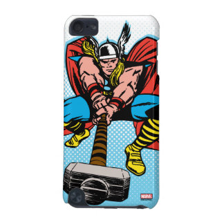 Thor Swinging Mjolnir Forward iPod Touch 5G Covers
