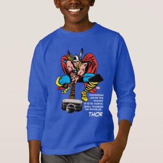 Thor Swinging Mjolnir Forward T-Shirt