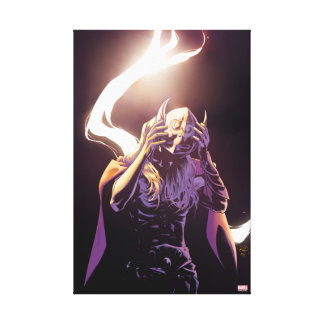 Thor Taking Off Helmet Canvas Print