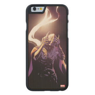 Thor Taking Off Helmet Carved Maple iPhone 6 Case