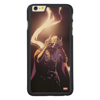 Thor Taking Off Helmet Carved Maple iPhone 6 Plus Case