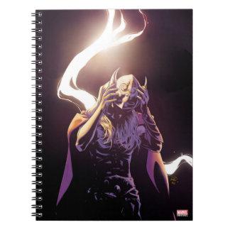 Thor Taking Off Helmet Note Book