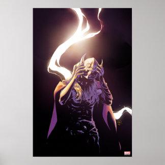 Thor Taking Off Helmet Poster