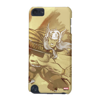 Thor Throwing Mjolnir iPod Touch (5th Generation) Cases