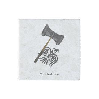 Thor Viking War Hammer Stone Magnets