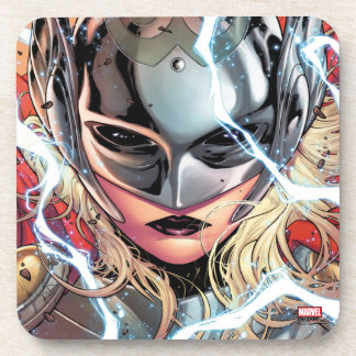 Thor With Lightning Drink Coasters