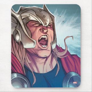 Thor Yell Comic Panel Mouse Pad