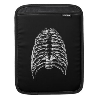 Thorax bones iPad sleeve