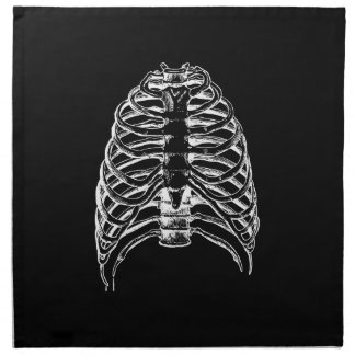 Thorax bones napkin