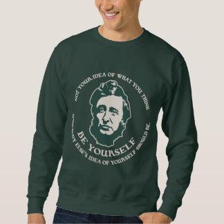 Thoreau - Be Yourself Sweatshirt
