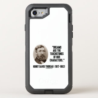 Thoreau Dreams Are Touchstones Of Our Characters OtterBox Defender iPhone 7 Case