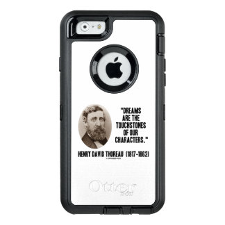 Thoreau Dreams Are Touchstones Of Our Characters OtterBox iPhone 6/6s Case