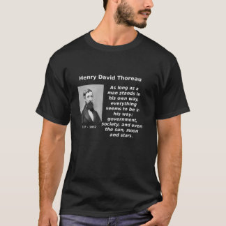 Thoreau, In His Way T-Shirt